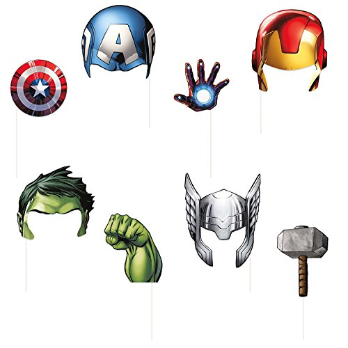 Unique Industries Avengers Photo Booth Props - Party -