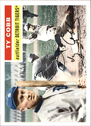 Ty Cobb Cards - 2010 Topps Vintage Legends Collection #VLC20 Ty Cobb - Baseball Card