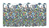 SILVER HOLOGRAM 1-1/4 INCH STRETCH SEQUIN 10 Yards