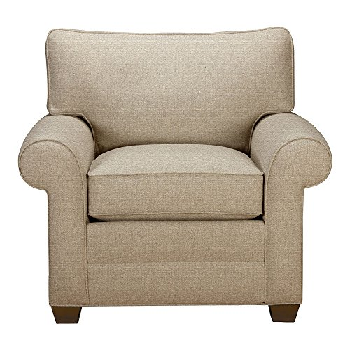 Ethan Allen Bennett Roll-Arm Chair, Quick Ship, Palmer Oyste