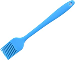 1Pc Silicone Pastry Brush - Easy to Clean Grill Brush - Assorted Basting Brush Ideal For BBQ, Marinating, or Spreading Butter & Oil- Food Grade, High Heat Resistant,Dishwasher safe