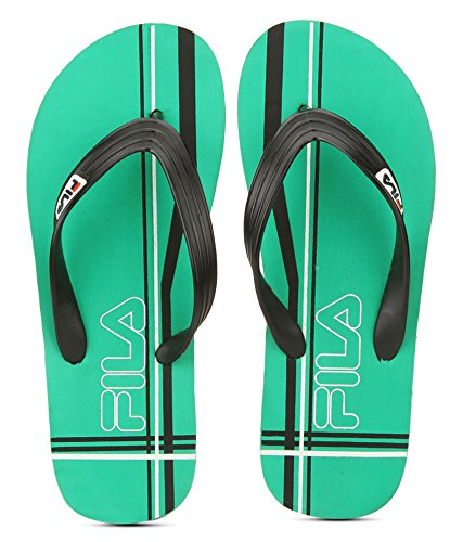 8ddf90e4f398ff Fila Men s Cross Flip Navy Grey White Hawaii Thong Sandals - 6 UK ...