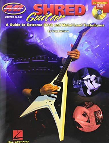 Musicians Institute Shred Gtr Guide Extreme Rock Metal Lead Tab Bk/Cd (And Metal Lead Techniques) by VARIOUS (2010-01-12)