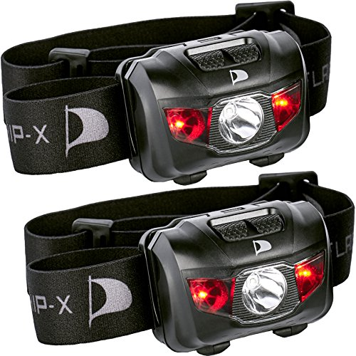 Insane Sale 2 Pack Flagship X Waterproof CREE LED Camping Headlamp Flashlight For Running