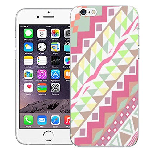 "Mobile Case Mate iPhone 6S 4.7"" Silicone Coque couverture case cover Pare-chocs + STYLET - Corals pattern (SILICON)"