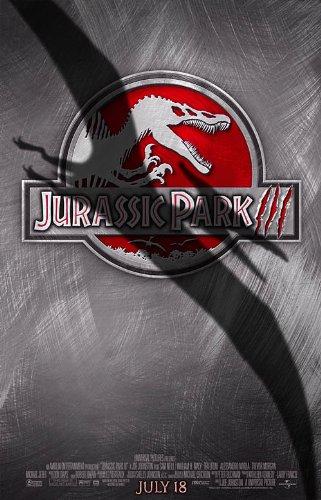 Jurassic Park III 3 Movie Poster 2 Sided Original Final