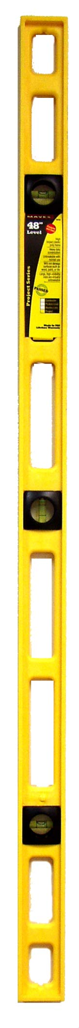 Mayes 10102 48-Inch Polystyrene Level