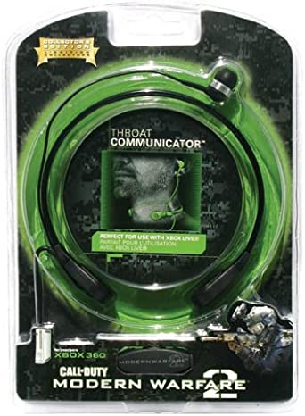 Mad Catz - Micrófono Throat Communicator C.O.D. Modern Warfare 2 (Xbox 360): Amazon.es: Videojuegos