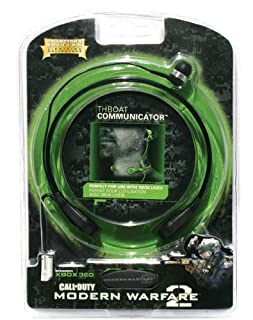 Call of Duty: Modern Warfare 2 Throat Communicator for Xbox 360 (B002MZZLNM) | Amazon price tracker / tracking, Amazon price history charts, Amazon price watches, Amazon price drop alerts