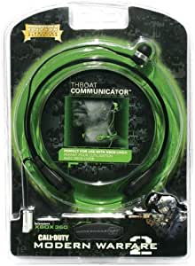 Mad Catz - Micrófono Throat Communicator C.O.D. Modern Warfare 2 ...