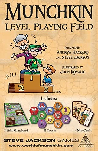 Steve Jackson Games Munchkin Level Playing Field Juego de Mesa ...