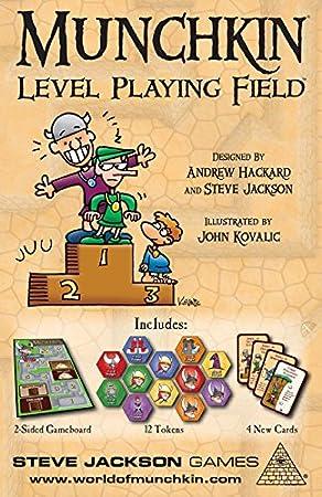 Steve Jackson Games Munchkin Level Playing Field Juego de Mesa 5559: Amazon.es: Juguetes y juegos
