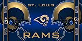 NFL St Louis Rams Fiber Reactive Beach Towel