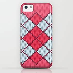 Society6 - Pattern Series 058 Argyle Pink iPhone & iPod Case by Colli13designs:by Su