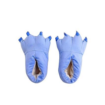 Zapatillas Garras Monstruo Invierno– Zapatillas De Casa Animales con Garras Originales Y Divertidas – Adultos