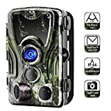 Suntekcam Trail Camera Wildlife 16MP 1080P Hunting Scouting HD 0.3s Trigger Speed Night