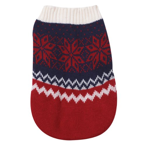 (Zack & Zoey Acrylic Ranch Dog Sweater, Large, 20-Inch, Maroon)