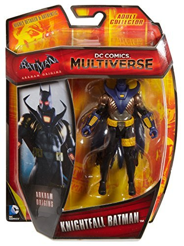 DC Comics multiverse Batman: Arkham Begins 3.75 inches Basic Figure Night Fall Batman / DC COMICS MULTIVERSE BATMAN: ARKHAM ORIGINS KNIGHTFALL BATMAN [parallel import goods]