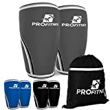 Knee Sleeve (Pair) Squat Knee Support & Compression for Powerlifting,...