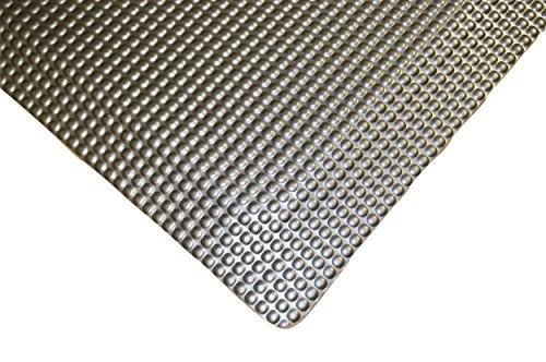 (Rhino Mats RFLX48DSMX50 Reflex Anti-Fatigue Double Sponged Mat, Vinyl, 4' x 50' x 1