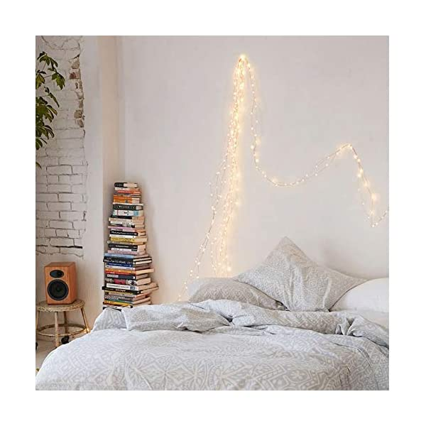 Pony Taillight 200 Led String Fairy Lights 10 Strand Cascading Waterfall Lights Battery Operated Waterproof String Blinkee Com