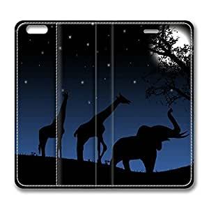 Animals Back Home DIY Leather iphone 6 plus Case Perfect By Custom Service hjbrhga1544