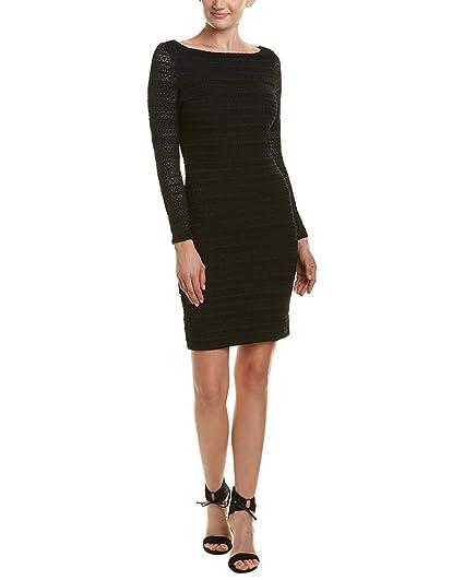 Amazon Reiss Womens Denise Shift Dress 10 Black Clothing