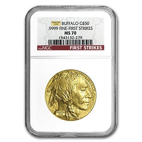 2006 – Present 1 oz Gold Buffalo MS-70 NGC (Random Year) 1 OZ MS-70 NGC