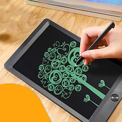 Writing Board Electronic Doodle Drawing Tablet with Lock Key Brighter Screen for Kids Family Office Size : 5 inches Black TUHUA LCD Writing Tablet 10 inch
