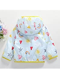 Weiyun Toddler Kids Baby Girl Winter Warm Clothes Faux Fur Thick Solid Coat Outwear