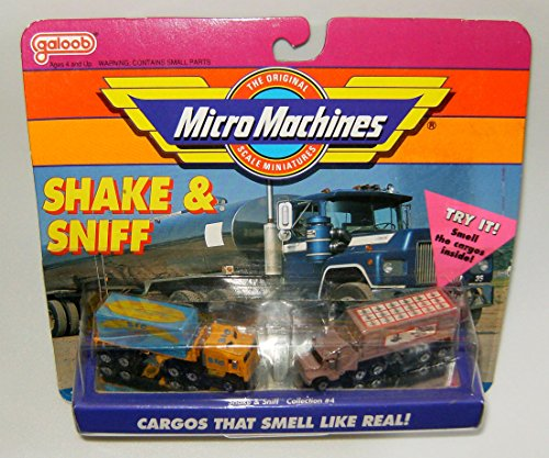 (Micro Machines Shake & Sniff Collection #4)