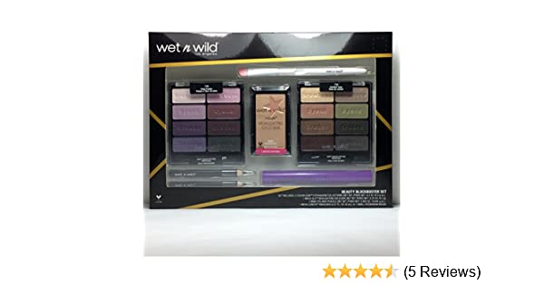 Wet n Wild Beauty Blockbuster Set Eyeshadow+Highlighting+Eyeliner+Mascara