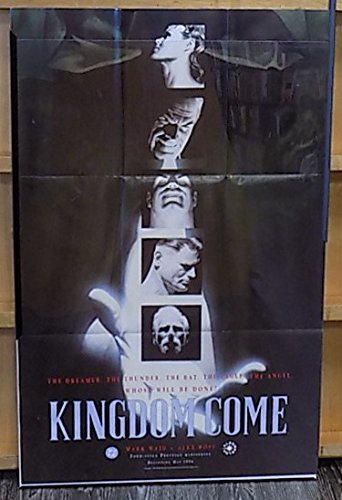 Kingdom Come Promotional Poster Mark Waid Alex Ross 1996 DC Comics Elseworlds