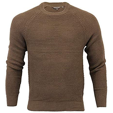 Mens Crosshatch Knitted Jumpers