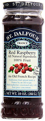 St. Dalfour, Preserves, Red Raspberry, 10 (St Dalfour Raspberry Fruit)
