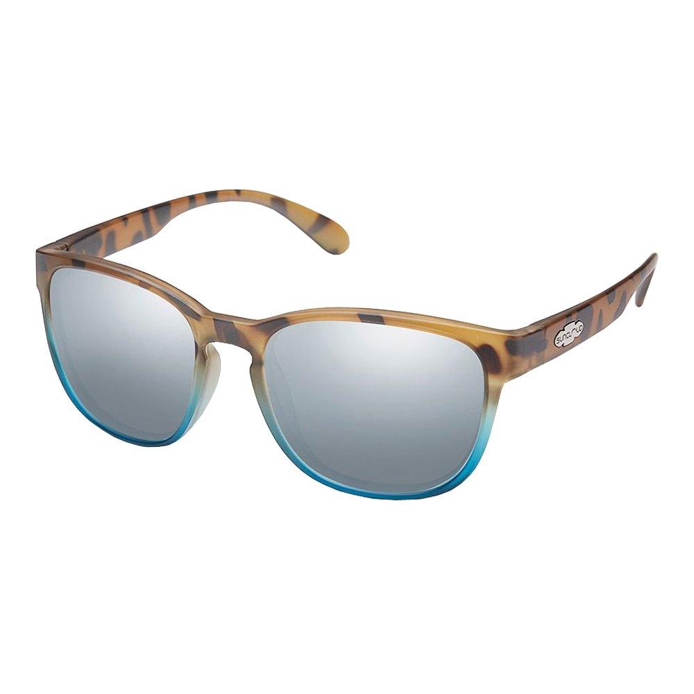 Suncloud Optics Loveseat Polarized Sunglasses (MT Tort Blue Fade, Silver Mirror)