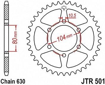 JT Sprockets JTR501.32 32T Steel Rear Sprocket