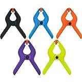 SE - Spring Clamps - Colored Plastic, 2in., 30 Pc - 3273SC30-COL