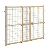 Evenflo Position and Lock JYlUlU Tall Pressure Mount Wood Gate (2 Units)