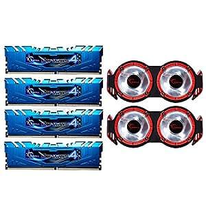 G.Skill Ripjaws 4 Blue DDR4 3400 PC4-27200 16GB (4x4GB) CL16 - Memoria RAM