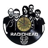 Radiohead Vinyl Wall Clock Unique Gifts Living Room Home Decor