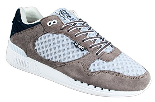 Denim Run Grigio Scarpe Djinns Mesh Shoes And Unisex Grey Easy qwvOxH1