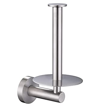 Amazoncom Vertical Toilet Paper Holder Aomasi Sus304 Stainless
