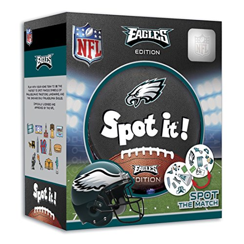 MasterPieces NFL Spot It! Philadelphia Eagles Edition (Phillies Add On Items)