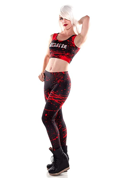 Cicongzai New Black Splatter Fitness Imprimir en 3D Mujeres ...