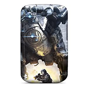 Elaney Slim Fit Tpu Protector TGM3849JXoV Shock Absorbent Bumper Case For Galaxy S3