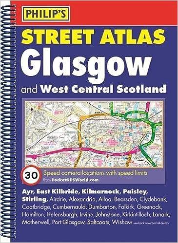 Philip S Street Atlas Glasgow And West Central Scotland Spiral