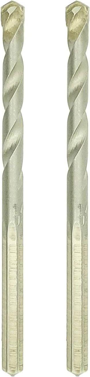 2 Made in The USA SNUG Fasteners SNG955 Two 1//4 x 4 Premium Carbide Tip Hex Shank Masonry Drill Bits