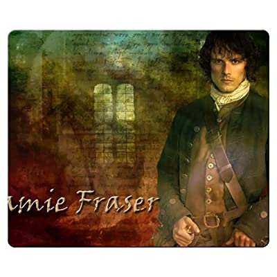 26x21cm 10x8inch gaming mouse mats cloth + rubber with optical mice prevent fraying Outlander wallpaper