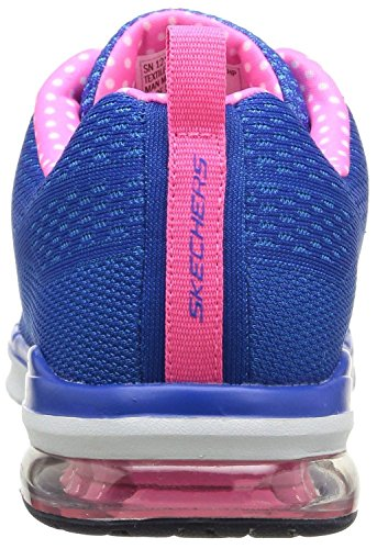 Skechers Skech-Air Infinity Blue Rose BlancFemmes Baskets Chaussures